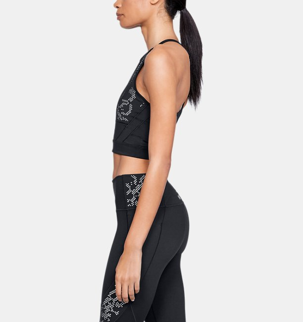 Womens Misty Copeland Signature Lace Crop Top